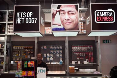 Kamera Express - indoor advertising