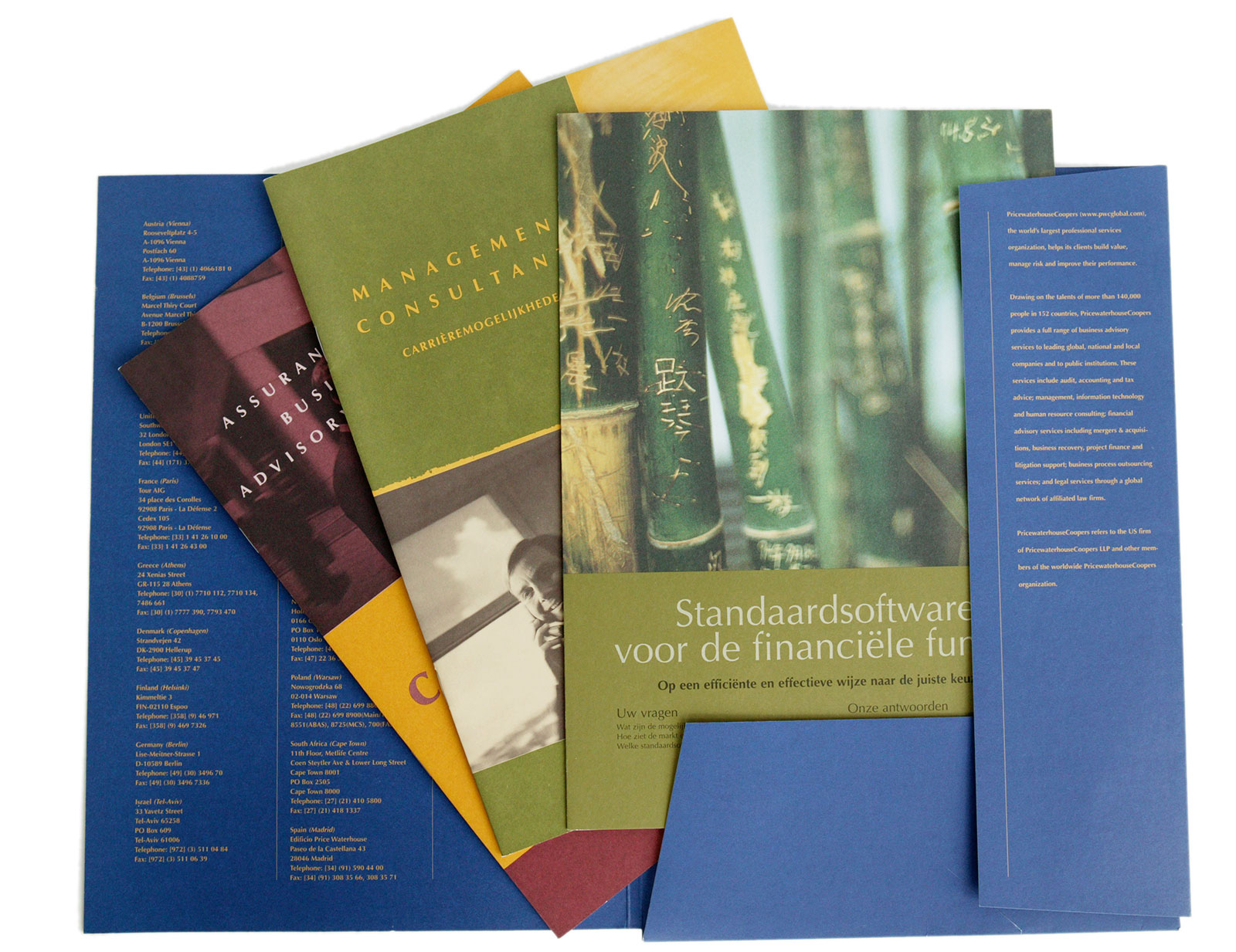 PricewaterhouseCoopers - Print Material
