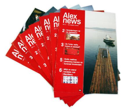 Alex Bleggersbank - Brochure design